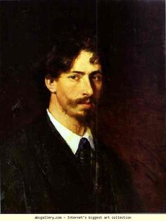 Ilya Repin. Self-Portrait. Olga's Gallery.