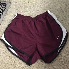 Shorts Nike dry fit shorts. Maroon colored Nike Shorts