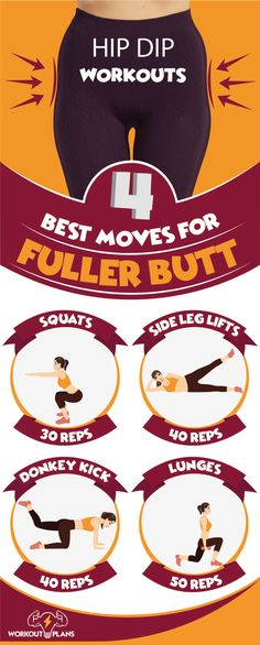 Hip Dip Workouts For Sexy Butt - Handywork Fitness Dip Workout, Gym Workouts, At Home Workouts, Reto Fitness, Fitness Tips, Hip Dip Exercise, Exercise Workouts, Fitness Exercises, Home Workout Schedule