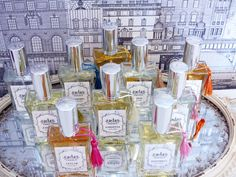 ADA ESSENCE multipurpose perfume series consists of 10 different flowers. Scents of mimosas, lilacs, lilies of the valley, limes, honeysuckles, hyacinths, jasmines, gardenias, lilies and lavenders will beautify your soul and your home.