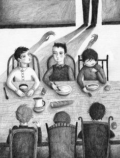 ANA SENDER. #illustration #terrifying #childrensbook