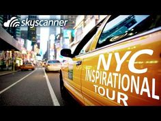 """New York City inspirational tour with Skyscanner. """"City of Dreams"""", """"Concrete Jungle"""" and the """"Big Apple"""" are just some of the affectionate labels that have been given to this one-of-a-kind destination. #NewYork #NYC"""