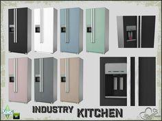 Sims4 Kitchen fridges