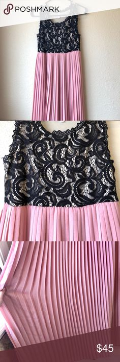 Pink Blush Maternity Dress (Small) Perfect condition! Worn one time 😊 Flattering, comfortable and stunning! Floor length! 💕 Pink Blush Dresses Maxi