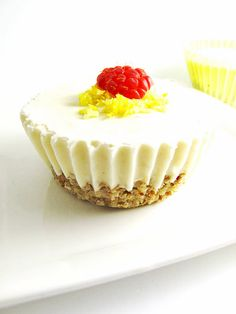 raw food recipe lemon dream bars dessert healthy gluten free by Beth Hemmila