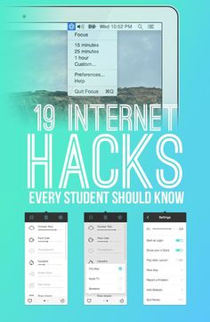 19 Internet Hacks Every Student Should Know …