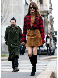 People @ Milaan Fashion Week a/w 2015 | ELLE