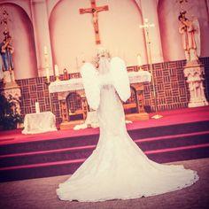 Awareness Campaign, Hernia, Cherubs, Wedding Day, Wedding Dresses, Wings, How To Wear, Fashion, Pi Day Wedding