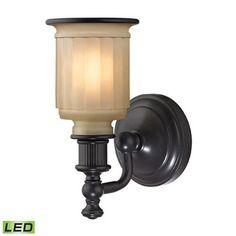 Evelyn Oil Rubbed Bronze LED One-Light Vanity