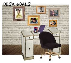 """""""My Dream Office!"""" by batgirl-at-the-disco3 ❤ liked on Polyvore featuring interior, interiors, interior design, home, home decor, interior decorating, Speck, Disney, awesome and contest"""