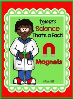FREE Science: That's a Fact - Magnets These are handwriting practice sheets. Kids practice handwriting & learn about magnets at the same time! First Grade Science, Kindergarten Science, Elementary Science, Science Classroom, Teaching Science, Science For Kids, Science Writing, Science Resources, Science Lessons