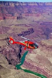 Helicopter tour over grand canyon