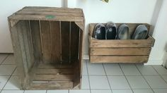 Wooden shoerack