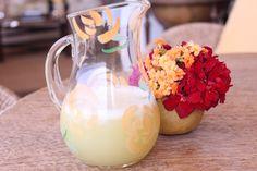 Suco de limão siciliano cm hortelã
