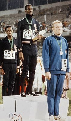 Long jump: 1968 Olympic Games Mexico City.  The American won the gold medal and his record stood for almost 23 years until it was finally bettered by five centimetres by his compatriot Mike Powell in 1991 Photograph: Popperfoto/Getty Images