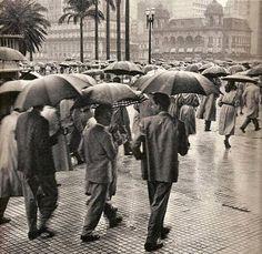 1959 - Viaduto do Chá esquina com rua Xavier de Toledo.