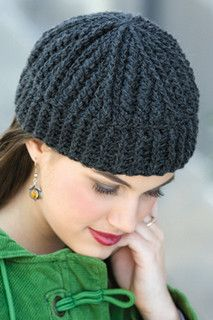 Cabled Tam pattern by Drew Emborsky