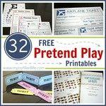 32 FREE Pretend Play Printables - My Joy-Filled Life