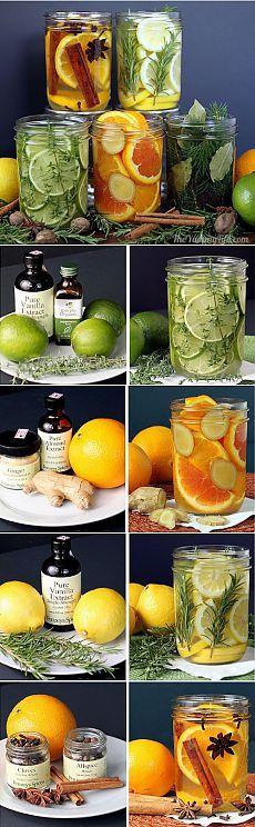 Как сделать натуральные ароматизаторы для дома | Лайфхакер