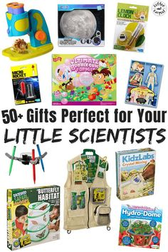 Must have gifts to encourage your kids to love science are perfect for your little scientists. Help your children learn to explore and gain a better understand of STEM with these awesome gifts that will teach them science through play! Top gifts for kids who enjoy science, perfect for birthdays or Christmas.