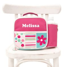 Personalised Lunch Bag Gelati Personalized School Supplies, Personalized Lunch Bags, Kids Bags, Kid Names, Your Child, Little Ones, Children, Pink Backgrounds, Face Book