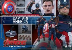 """Hot Toys Unveils A Spectacular Captain America Figure From """"Age Of Ultron"""""""