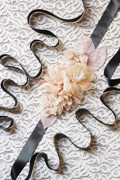 Bridal Sash Belt Wedding Dress Sashes Belts   Tan Nude Taupe