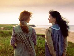 Anne & Diana (Anne of Green Gables) I am named after Anne. (at least, my mom named me Rebecca Anne, and I shall claim that it was after Anne Shirley. :)