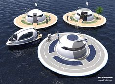 UFO Floating Homes