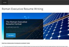 The popularity of roman executive resumes has risen in 2014, now required by more than half of employers registered with EEOC. Here, we discuss how to create a roman-executive resume format in Microsoft Word properly. #RomanExecutiveResumeFormat