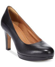 Clarks Artisan Women's Delsie Bliss Platform Pumps - Pumps - Shoes - Macy's