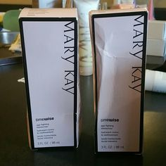 Timewise moisturizer Have normal to dry and oily to combo on hand limited supply some boxes are not perfect condition but tube are intake never used Mary Kay Makeup