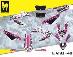 E 3476 - Yamaha R & X graphics decals kit - Moto-StyleMX Yamaha Wr, Custom Design, Decals, Graphics, Kit, Tags, Graphic Design, Sticker, Decal