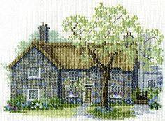 Moorland Cottage Cross Stitch Kit from Derwentwater Designs