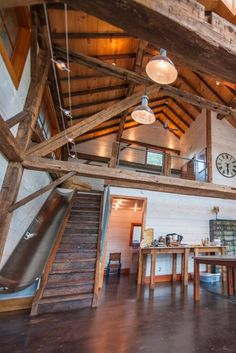 This Barn Was Restored With the Absolute Coolest Addition We've Ever Seen While we're no stranger to an applause-worthy home renovation, this addition to a renovated barn in Austin, TX, has us completely captivated. Building A Pole Barn, Pole Barn House Plans, Pole Barn Homes, Metal Building Homes, Barn Plans, Building A House, Rustic Barn Homes, Converted Barn Homes, Barn Apartment