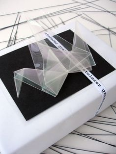 DIY -  decorate packages with origami