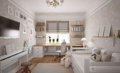 Дизайн интерьера детской комнаты «Нежность»