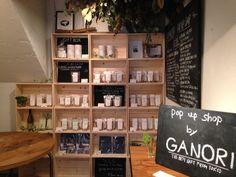 GANORI @GANORI_UEHARA  2015年12月18日 代々木上原界隈のみなさま「Ganori」 が戻ってきました! ハイセンスなカフェ「 9stories(ナインストーリーズ) 」内にポップアップショップを出しています(●'w'●) http://www.nine-stories.jp/