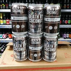 Returning beer. Death by Coconut - 6.5% Irish Porter with Coconut by @oskarblues back in stock