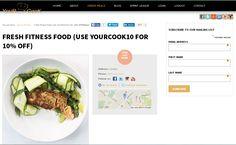 Fresh Fitness Food is a London based bespoke nutrition service.