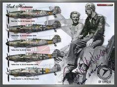 Major Erich Hartmann, Luftwaffe ace