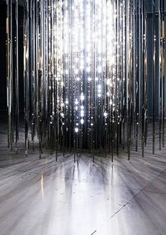 Installation by Leo Villareal - Light Show at the Hayward Gallery, Southbank Centre