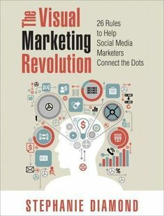 The Paperback of the The Visual Marketing Revolution: 26 Rules to Help Social Media Marketers Connect the Dots by Stephanie Diamond at Barnes & Noble. Social Media Marketing Books, Social Media Roi, Social Networks, Online Advertising, Online Marketing, Digital Marketing, Connect The Dots, Revolution, Ebook Pdf