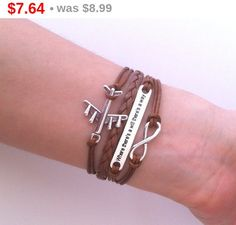 15% SALE Aircraft  airplane bracelet  brown plane by FunnyOwls