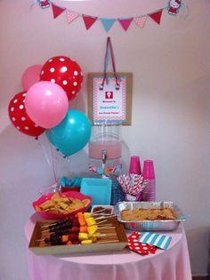 Hello Kitty Birthday Party Ideas | Photo 4 of 17 | Catch My Party