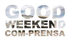 Good Weekend Com-prensa Impressão Têxtil #comprensa #beautiful #photo #fashion #design #color #model #weekend
