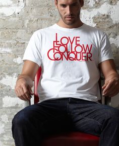 We're really proud to have the privilege of supporting our home town team, Liverpool Football Club. We're all unique supporters and we felt it was about time LFC supporters had a unique brand to wear on the terraces. The name Love Follow Conquer we feel captures our passion, pride and belief that distinguishes LFC supports from the rest.