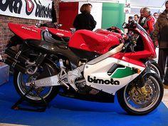 Bimota 500 Vdue   Italian exotic motorcycle This