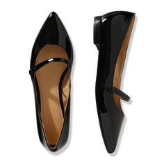 Pointed Patent Flat, cute but wonder if they are comfortable???