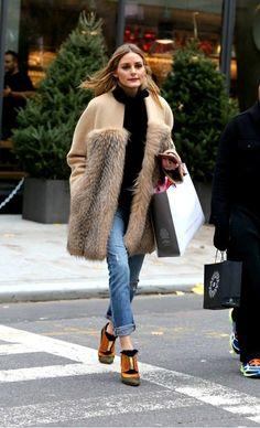Los looks de Olivia Palermo para llevar en invierno